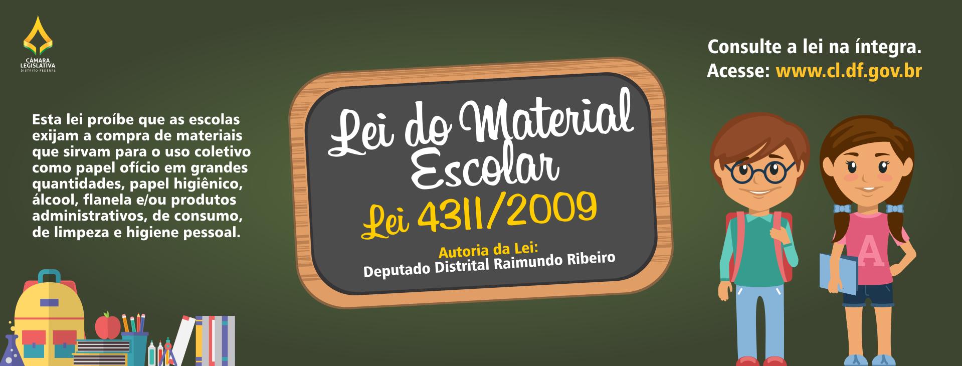 Lei Do Material Escolar Raimundo Ribeiro