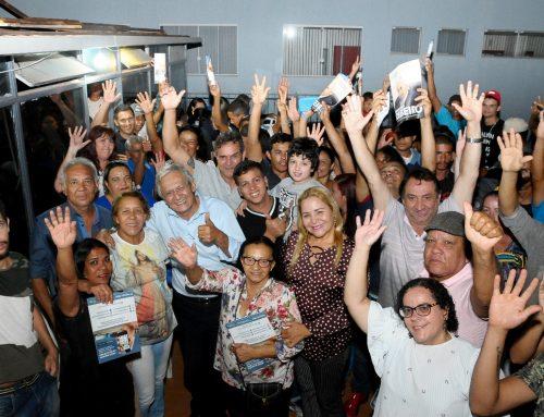 RR é recebido pela comunidade de Planaltina