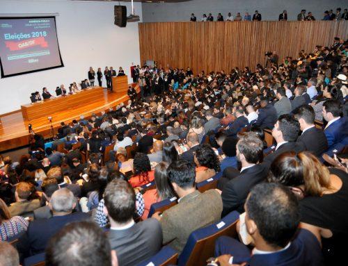 Deputado Raimundo Ribeiro realiza debate entre candidatos a OAB-DF